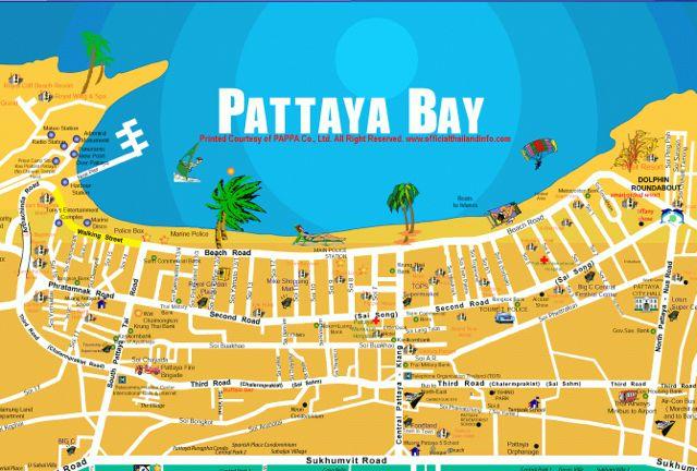 pattaya-map