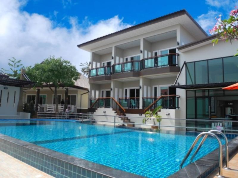 villa mit pool auf koh larn