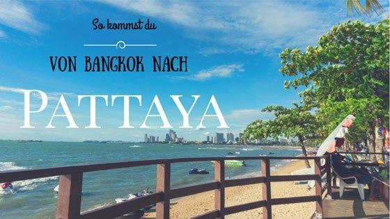 Strand und Meer in Pattaya