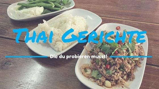 thailändisches Gericht