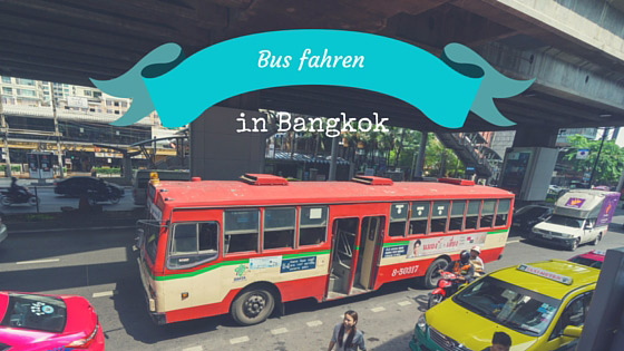 Roter Bus in Bangkok