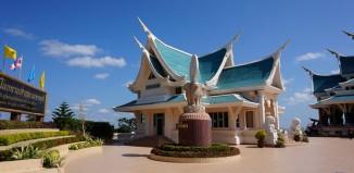 Stadt im Norden von Thailand