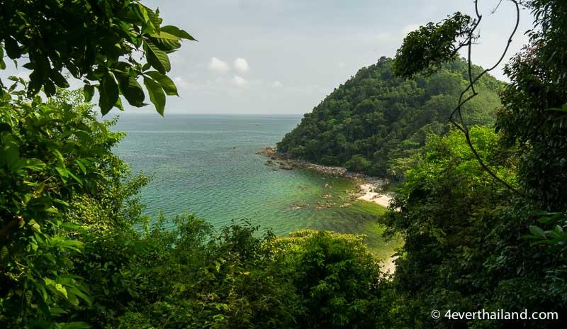 Insel in Lang Suan