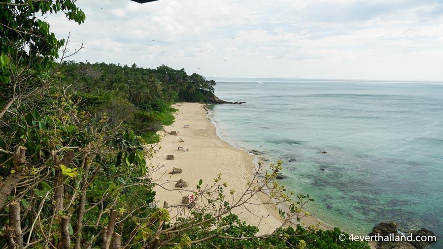 Koh Lanta strände-nui beach