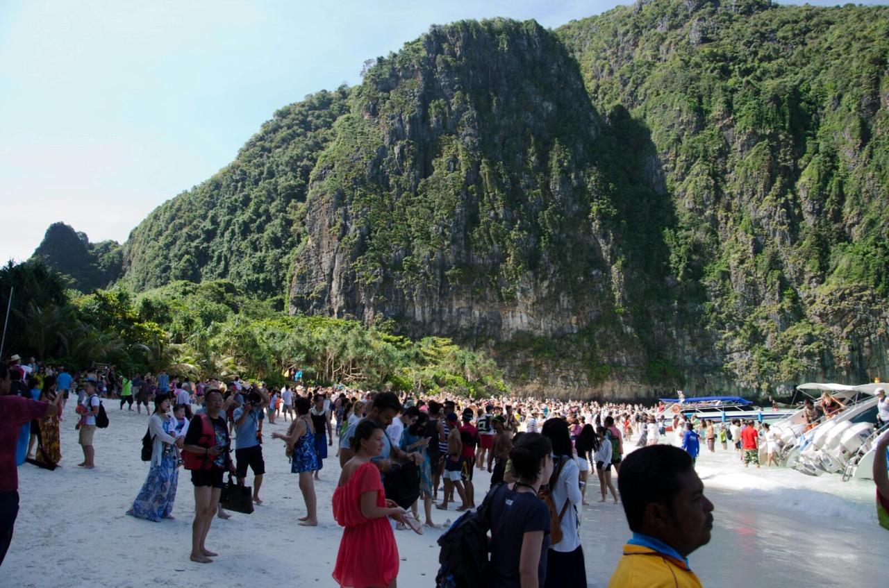Nur ein paar Touristen ;)