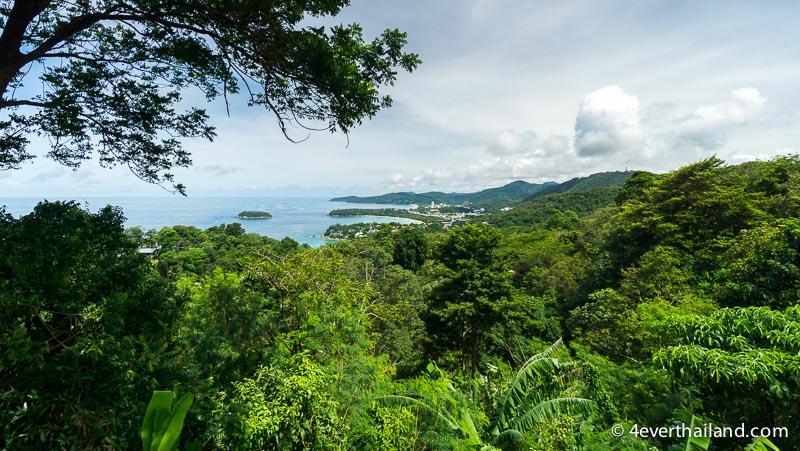 Phuket Sehenswürdigkeiten karon viewpoint