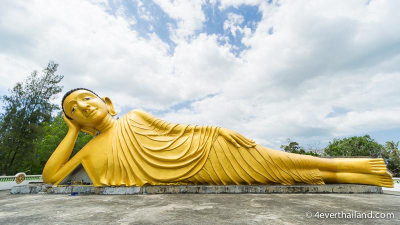 Phuket Sehenswürdigkeiten-liegender buddha