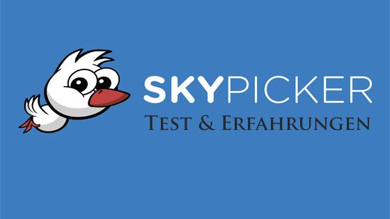Skypicker Flugsuchmaschine
