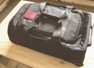 Hama Reisetasche mit Rollen Test